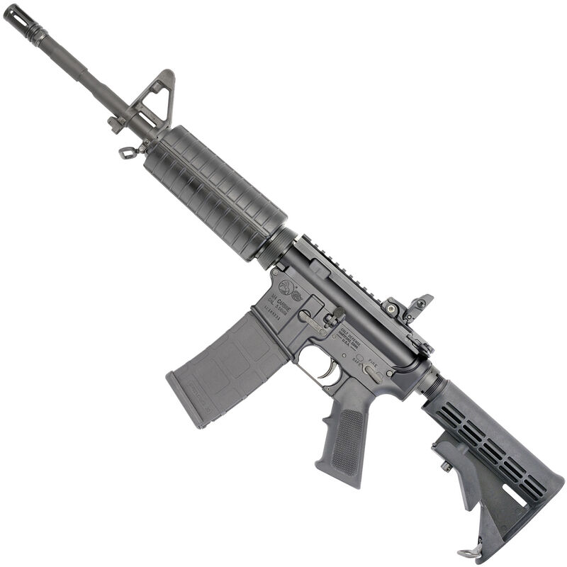 Colt LE6920 M4 Carbine AR 15 Semi Auto Rifle NATO 16 1 Heavy Barrel 30 Rounds Polymer Hand Guard Collapsible Stock Matte Black