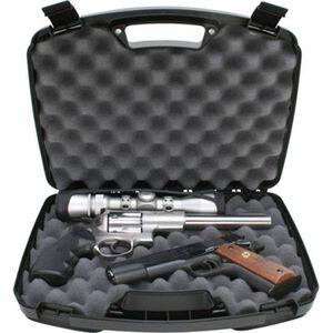 MTM Case-Gard 2 Pistol Hard Gun Case Snap Latches Black 80940