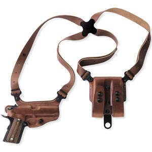 Galco Miami Classic GLOCK 17, 19, 26, 22, 23, 27, 31, 32, 33 Shoulder Holster Right Hand Leather Tan MC224