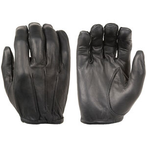 Damascus Protective Gear Dyna-Thin Unlined Leather Duty Gloves w/Short Cuffs, Small