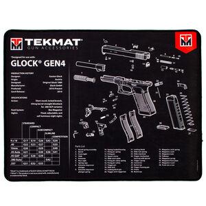 """TekMat Ultra Premium Gun Cleaning Armorer's Mat for GLOCK Gen 4 15""""x20"""""""