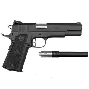 "Rock Island Armory 1911 Semi Auto Handgun 22TCM/9MM 4.2"" Barrel 17 Round Convertible Kit Parkerized Finish 51949"