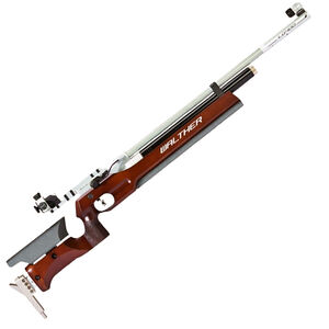 Walther LG400 Wood Stock Benchrest .177 Pellet Single Shot PCP Air Rifle Adjustable Wood Stock