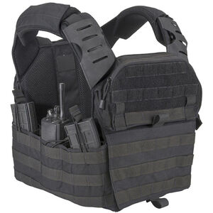 T3 Gear Tomahawk 2 Plate Carrier Kit With Soft Armor Inserts Black