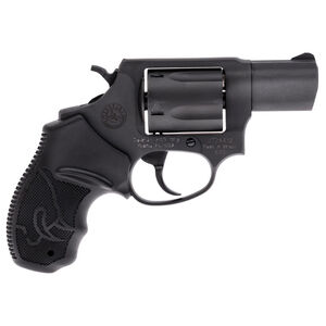 "Taurus 605 Double Action Revolver .357 Magnum 2"" Barrel 5 Rounds Fixed Front Sight/Fixed Rear Sight Soft Rubber Grips Matte Black Finish"