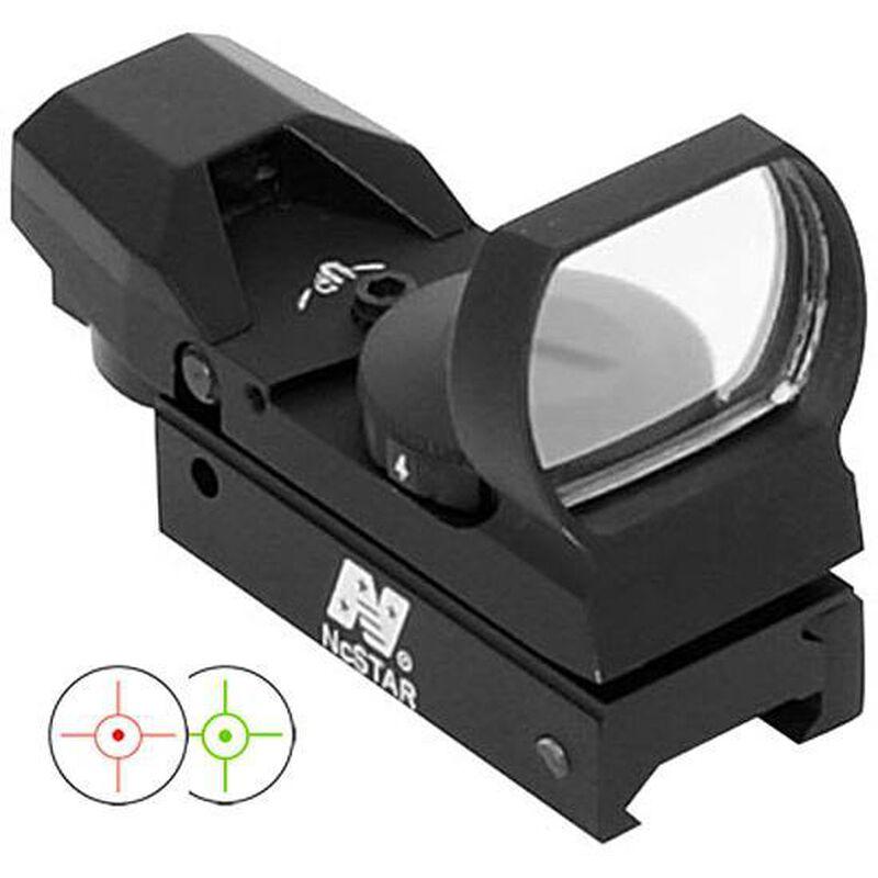 NcSTAR, Dual Illumination Multi Reticle Sight, Aluminum, Black
