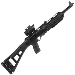 "Hi-Point Firearms Semi Auto Carbine 9mm Luger 16.5"" Barrel 10 Rounds Polymer Stock Black Finish with Red Dot Sight 995TS-RD"
