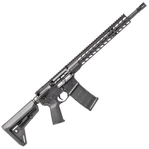 "Stag 15 Tactical Series AR-15 Semi Auto Rifle 5.56 NATO 16"" Phosphate Barrel 30 Rounds 13.5"" M-LOK Slimline Free Float Hand Guard Magpul Stock/Grip Matte Black Finish"