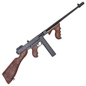 "Auto-Ordnance Thompson 1927A-1 Lightweight Deluxe Semi Auto Carbine .45 ACP 16.5"" Finned Barrel 20 Round Stick Magazine Blade Front Sight Walnut Stock/Grip Blued Finish"