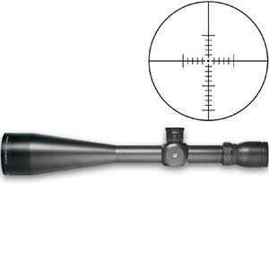 Sightron SIII Series 10-50x60 Riflescope Long Range MOA2 Reticle 30mm Tube 1/4 MOA Adjustable Objective Matte Black Waterproof 25003