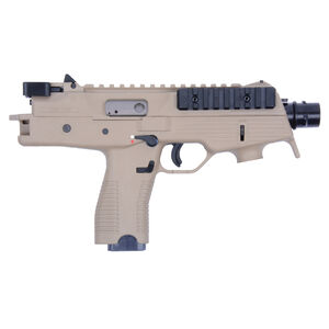 "B&T TP9 Semi Auto Pistol 9mm Luger 5"" Barrel 30 Rounds Picatinny Optics Rail Low Profile Back Up Sights Ambidextrous Magazine Release/Safety Tan"