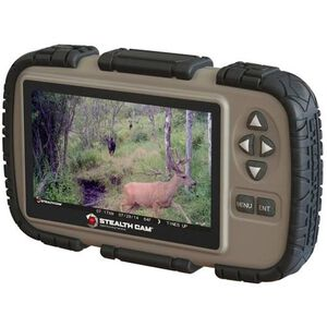 Stealth Cam SD Card Reader Viewer with 4.3in LCD Screen