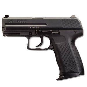 """H&K P2000 V2 Semi Automatic Pistol 9mm 3.66"""" Barrel 13 Rounds Polymer Black"""