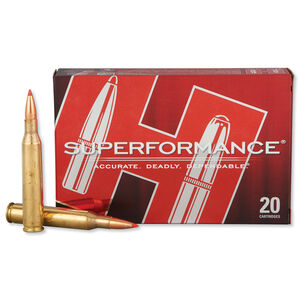 Hornady Superformance 25-06 Rem 117 Grain SST 20 Rnd Box