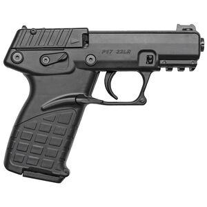 "Kel-Tec P17 .22 Long Rifle Semi Auto Pistol 3.8"" Barrel 16 Rounds Polymer Frame Matte Black Finish"