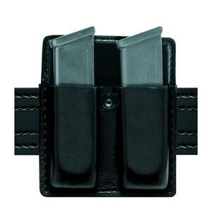 Safariland Model 75 Open Top Double Magazine Pouch Fits Beretta 92/96/M9 SafariLaminate Plain Black
