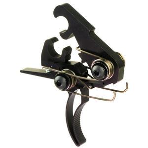 Elftmann Tactical AR-15 ELF Pro Component Trigger Curved Shoe 3.5lbs Red/Black PRO COMP-C