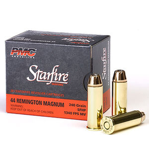PMC Starfire .44 Remington Magnum Ammunition 20 Rounds 240 Grain Starfire Jacketed Hollow Point 1340fps
