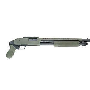 Hogue Tamer Mossberg 500 Pistol Grip/ Forened OverMolded OD Green 05115