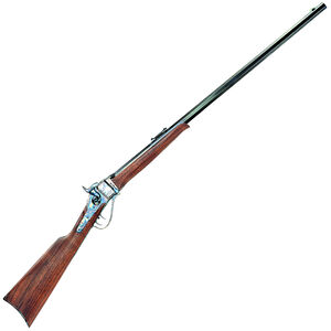 "Cimarron Firearms 1874 Billy Dixon Sharps Falling Block Rifle .45-70 Govt 32"" Octagon Barrel 1 Round Walnut Stock Case Hardened/Blued Finish"