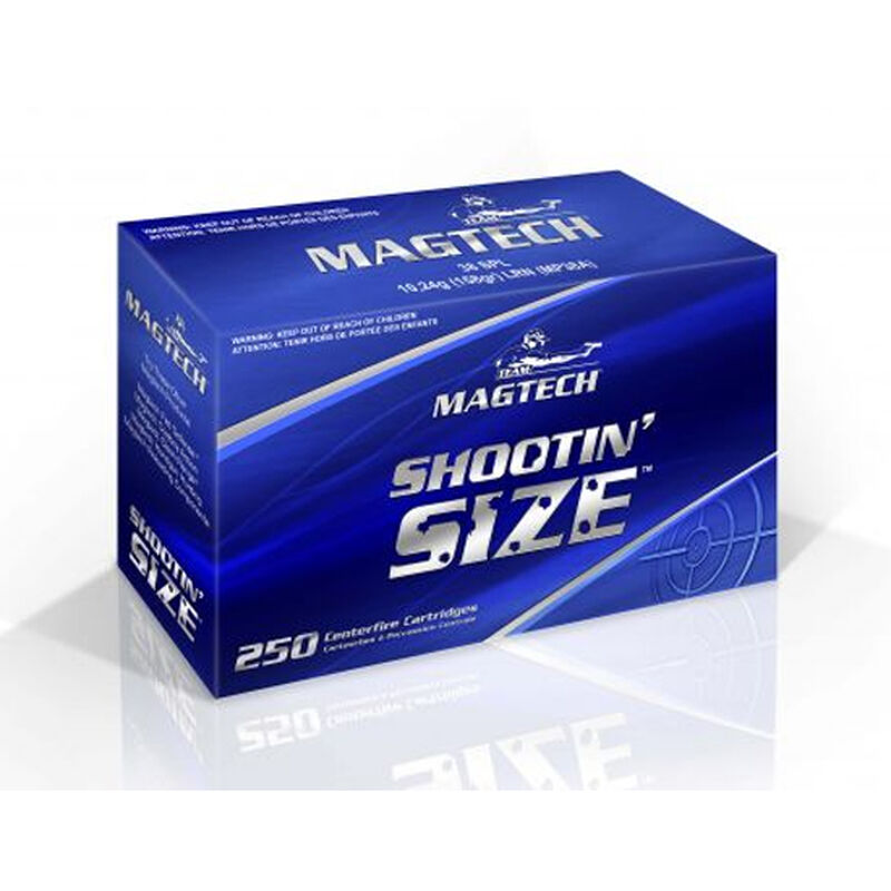 Magtech .357 Magnum Ammunition 1000 Rounds SJSP 158 Grains MP357A