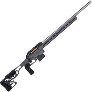 "Savage Firearms 110 Elite Precision .338 Lapua Magnum Bolt Action Rifle 30"" Barrel 5 Rounds Magazine MDT ACC Chassis Cerakote Grey"