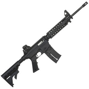 "Mossberg 715 Tactical Semi Auto Rifle .22 LR 16.25"" Barrel 25 Rounds Flat Top Upper Quad Rail Adjustable Stock Black Finish 37209"