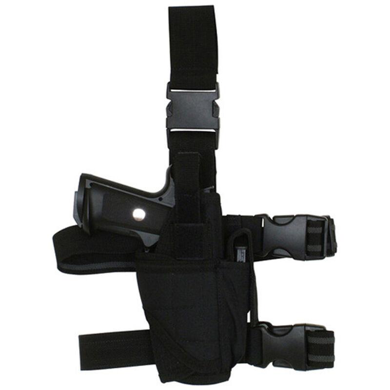 Fox Outdoor Commando Tactical Drop Leg Holster Large Autos Right Hand Black 58-681