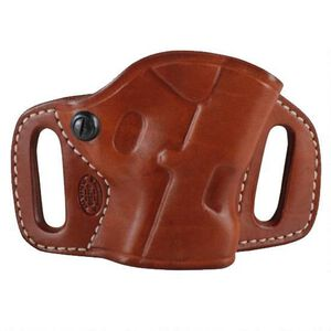 El Paso Saddlery High Slide Belt Holster Springfield XDS Right Brown