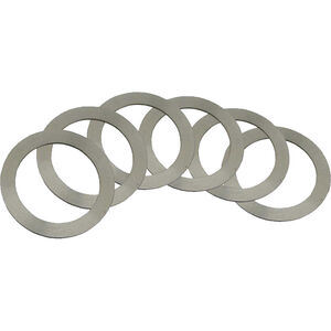 """YHM Barrel Shim Set 5/8"""" Inside Diameter Complete Set Steel"""