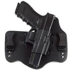 Galco KingTuk GLOCK 17, 19, 26, 22, 23, 27, 31, 32, 33 IWB Holster Right Hand Leather/Kydex Black KT224B