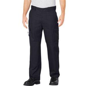 "Dickies Flex Comfort Waist EMT Pants Poly/Cotton Twill 34"" Waist 34"" Inseam Midnight Blue LP2377MD 3434"