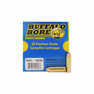 Buffalo Bore Heavy .41 Remington Magnum Ammunition 20 Rounds JHP 170 Grain 16C/20