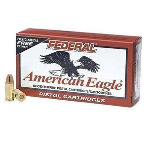 Federal 9mm Luger 147gr FMJ 1000 fps Brass 50 Round