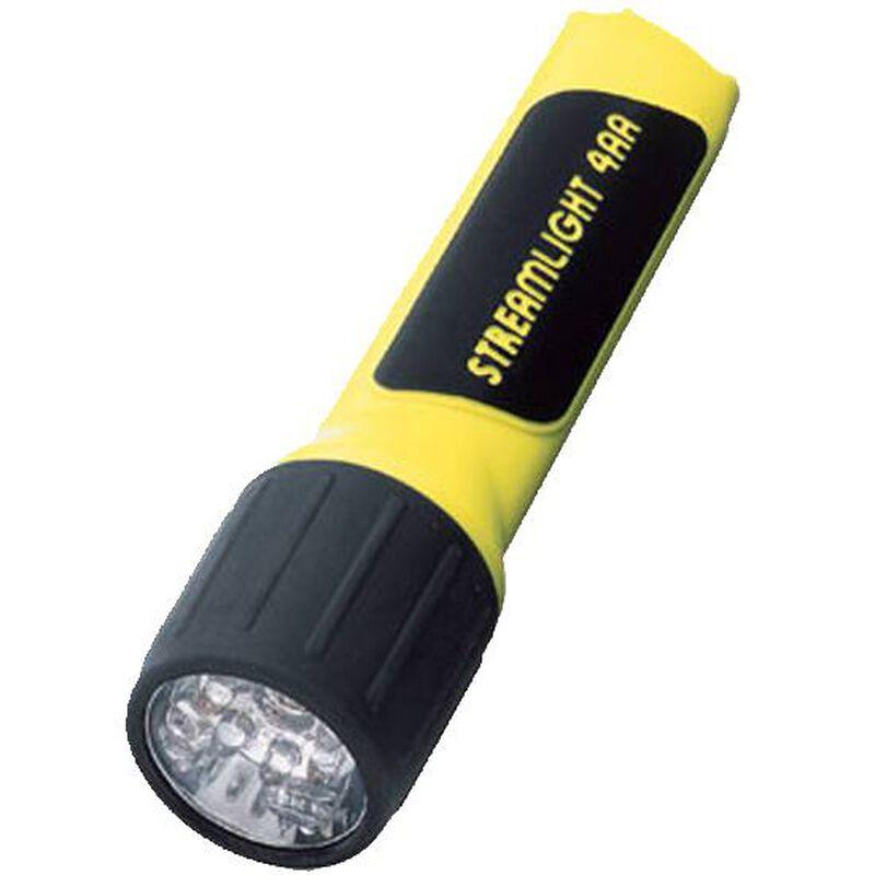 Streamlight ProPolymer LED Flashlight 67 Lumen Click Switch 4x AA Battery Click Switch Polymer Body Yellow 68200