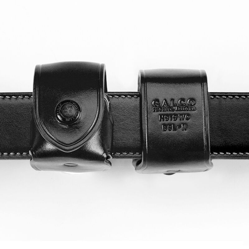 Galco Speedloader Carrier Fits S&W L-frame Speedloaders Leather Black