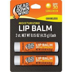 Dead Down Wind Oderless Lip Balm with SPF 30, 2 Pack