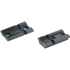 Weaver Tikka T3/T3x Top Mount Base Pairs 2-Piece Aluminum Black