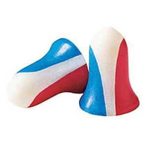 Howard Leight Super Leight Ear Plug Foam Red White Blue 1891