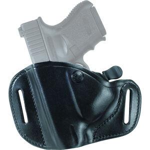 Bianchi 82 CarryLok Belt Holster Fits GLOCK 17/22 Left Hand Leather Black