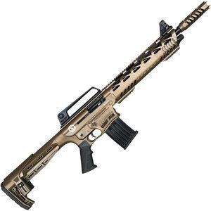"TR Silver Eagle SE122 Tactical AR 12 Gauge Style Semi Auto Shotgun 18.5"" Barrel 3"" Chamber 5 Rounds Synthetic Stock Bronze Cerakote Finish"