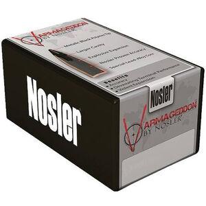 """Nolser 6mm Caliber .243"""" Diameter 55 Grain Polymer Tip Flat Base Varmageddon Rifle Bullets 250 Count 28115"""