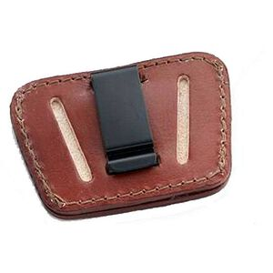 Personal Security Products Belt Slide Holster Leather Brown 035T
