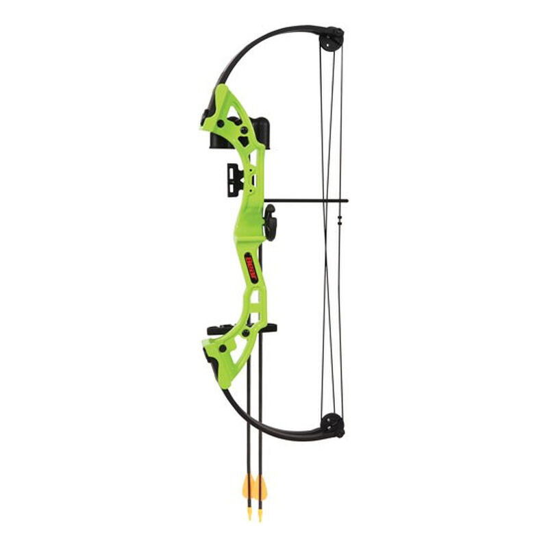 Bear Archery Brave Youth Compound Bow 15lbs-25lbs Draw Right Hand Green