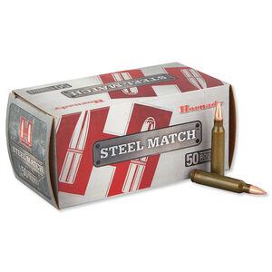 Hornady Steel Match .223 Remington Ammunition 50 Rounds JHP 55 Grains 80274