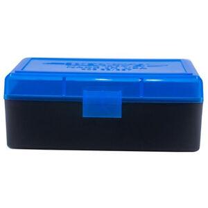 Berry's 403 Ammo Box .38/.357 100 Round Polymer Blue/Black