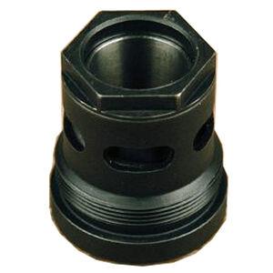 SilencerCo Octane/Omega K/Hybrid 3-Lug Barrel Mount Adapter .45 ACP Stainless Steel Black Oxide Finish