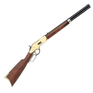 "Taylor's & Co 1866 Sporting Lever Action Rifle .38 Special 20"" Octagonal Barrel 10 Rounds Blue with Brass Frame Walnut Stock"