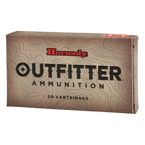 Hornady Outfitter .257 Weatherby Magnum Ammunition 20 Rounds 90 Grain GMX 81362