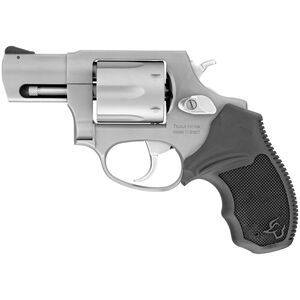 """Taurus 856 .38 Special +P Double Action Revolver 2"""" Barrel 6 Rounds Rubber Grips Matte Stainless Steel Finish"""